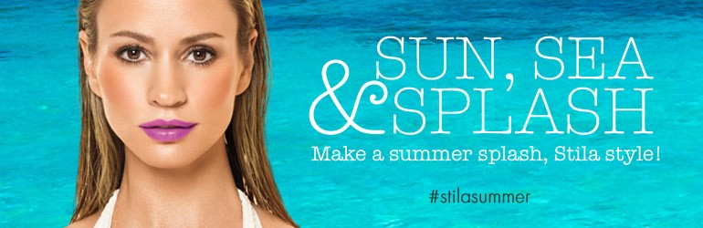 Stila Makeup Collection for Summer 2015 promo