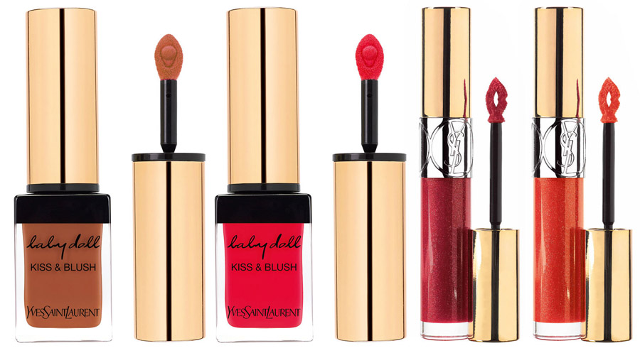 YSL Saharienne Makeup Collection for Summer 2015 lips