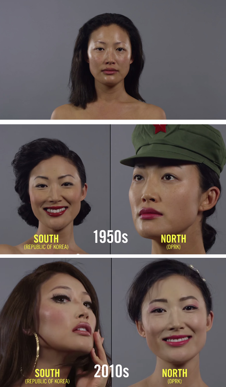 100 years of beauty videos Korea must watch about makeup