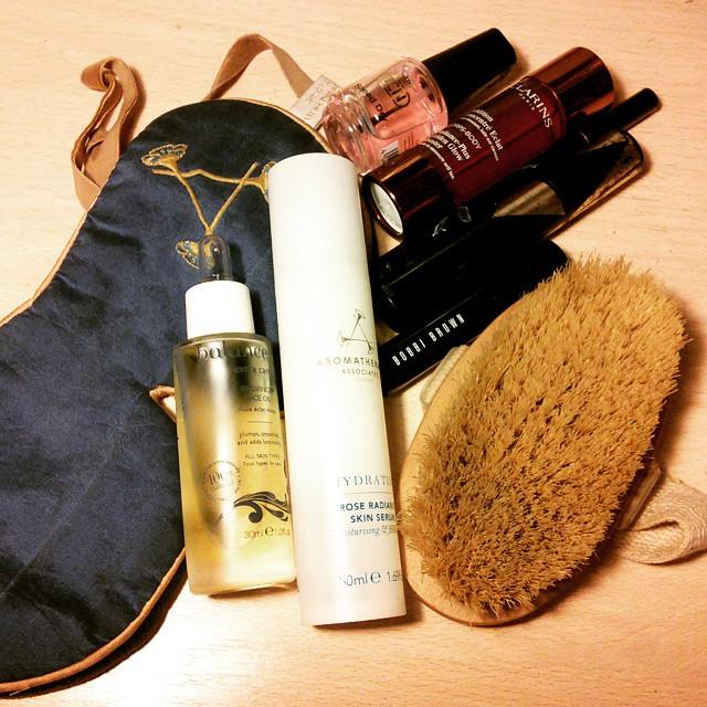 April 2015 Beauty Favourites elemis, clarins, aromatherapy associates, rouge bunny rouge, max factor, lcn