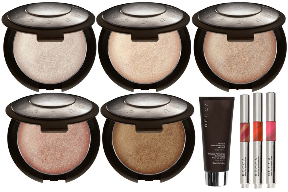 BECCA Makeup Collection for Summer 2015 products
