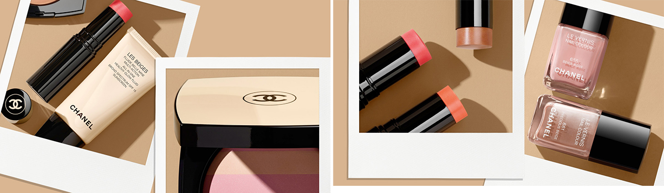 Chanel Les Beiges Makeup Collection for Summer 2015 promo