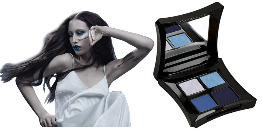 Illamasqua To Be Alive Makeup Collection for Summer 2015 eye shadows