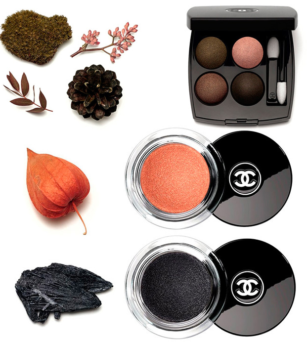Chanel  Les Automnales Makeup Collection for Autumn 2015 eye shadows