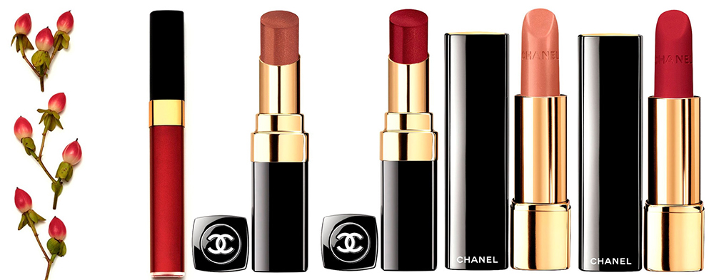 Chanel  Les Automnales Makeup Collection for Autumn 2015 lip products