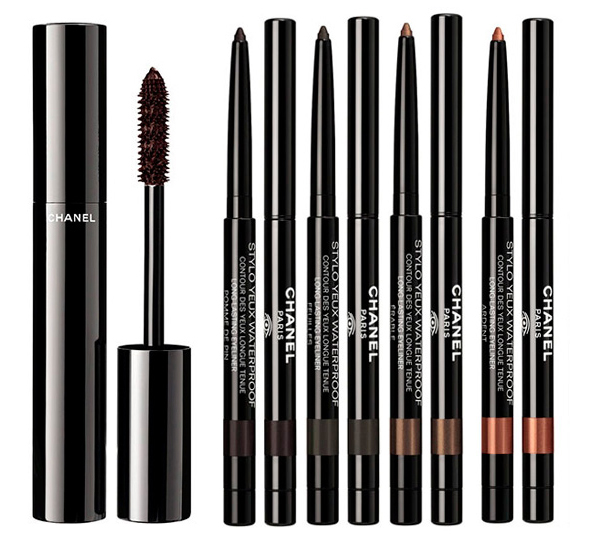 Chanel  Les Automnales Makeup Collection for Autumn 2015 mascara and eye pencils