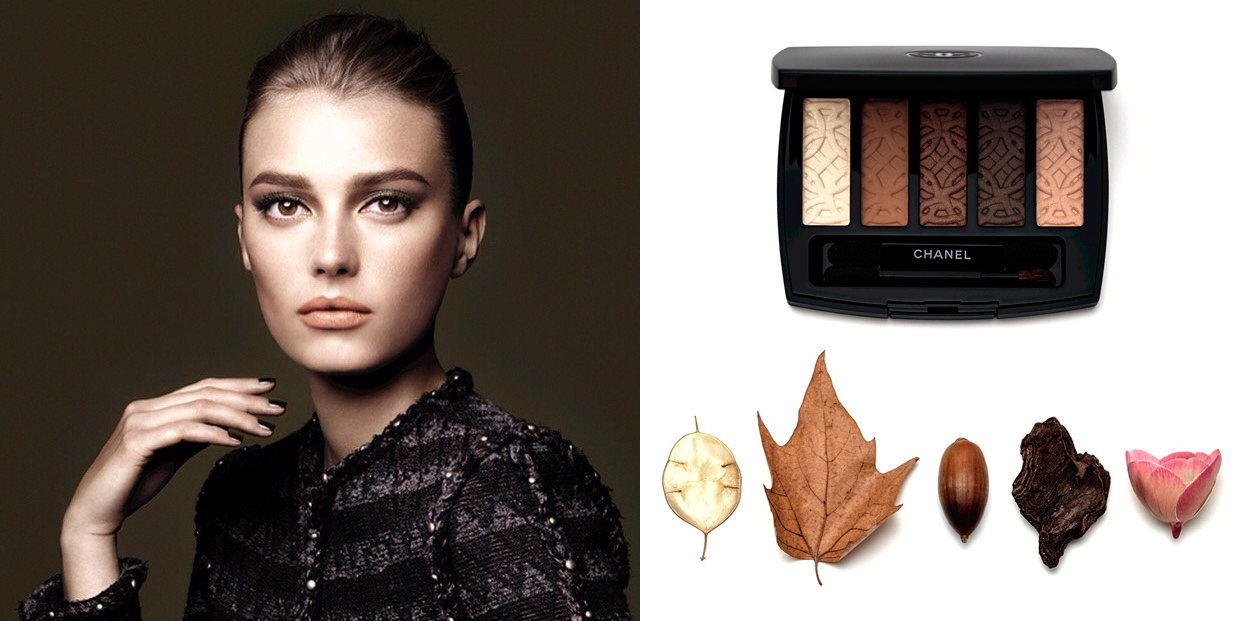 Chanel  Les Automnales Makeup Collection for Autumn 2015 promo and palette
