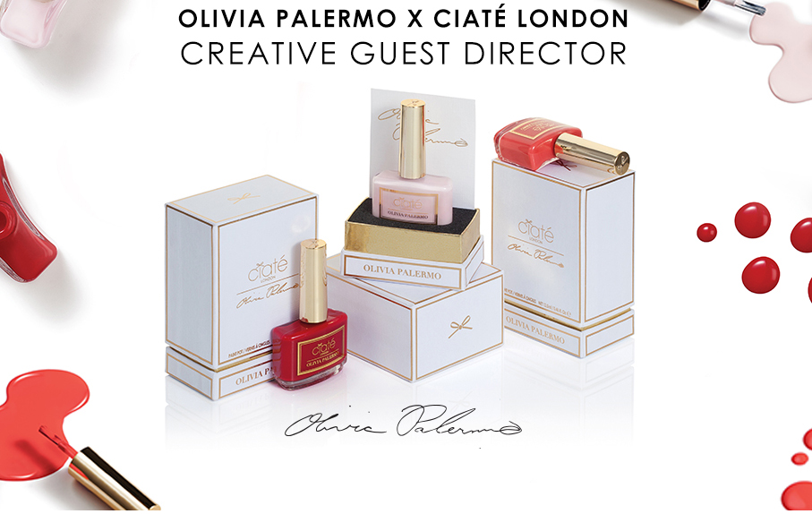 Ciate and Olivia Palermo nail polish collection