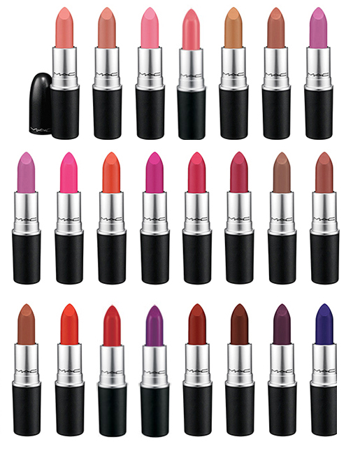 MAC Cosmetics Matte Lip Collection for Summer 2015 all shades