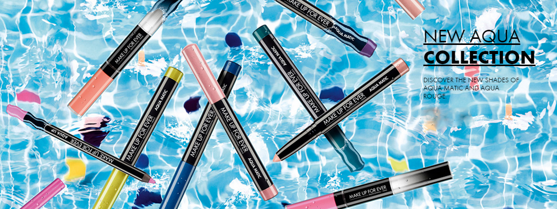 Make Up For Ever Aqua Collection summer 2015