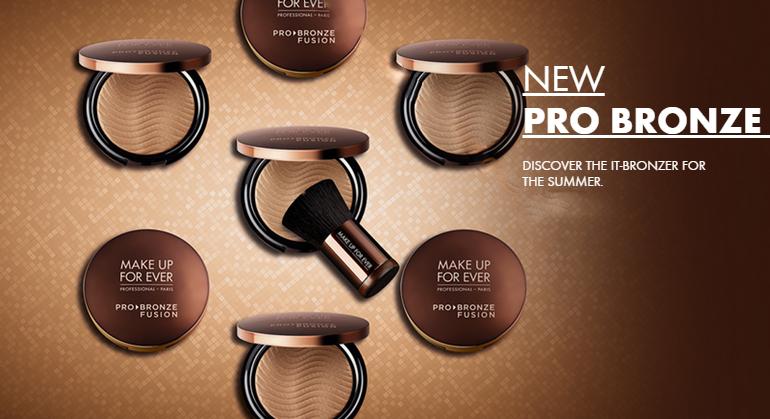 Make Up For Ever Pro Bronze Summer 2015