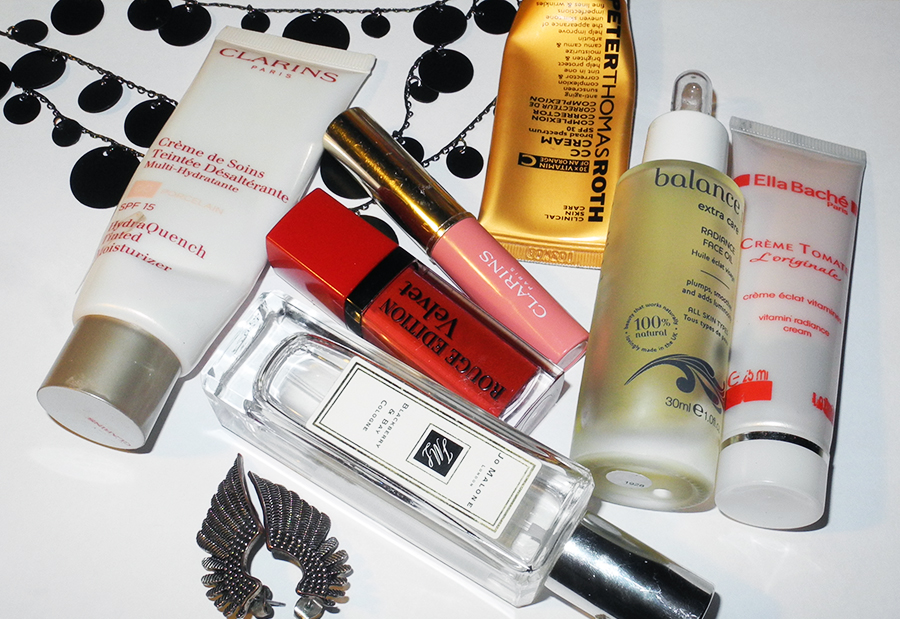 makeup products Clarins Bourjois Peter Tomas Roth Jo Malone  beauty