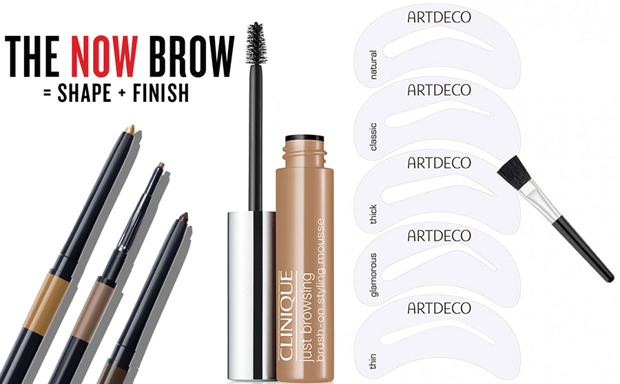 AW15 Eye Brow Products Clinique, Smashbox, ArtDeco and Tom Ford