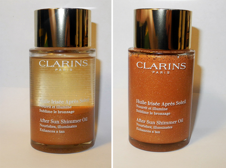 Clarins After Sun Shimmer Oil review