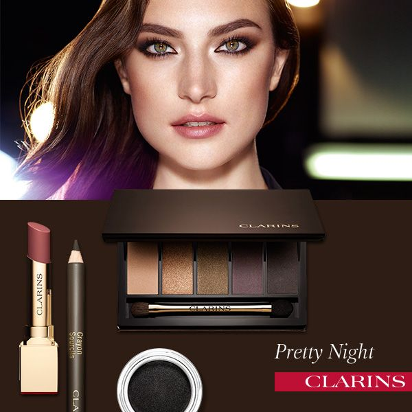 Clarins Makeup Collection for Autumn 2015 Night look