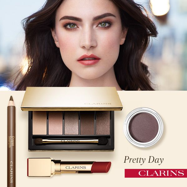 Clarins Makeup Collection for Autumn 2015 day look