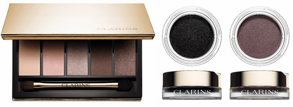 Clarins Makeup Collection for Autumn 2015 eye shadows