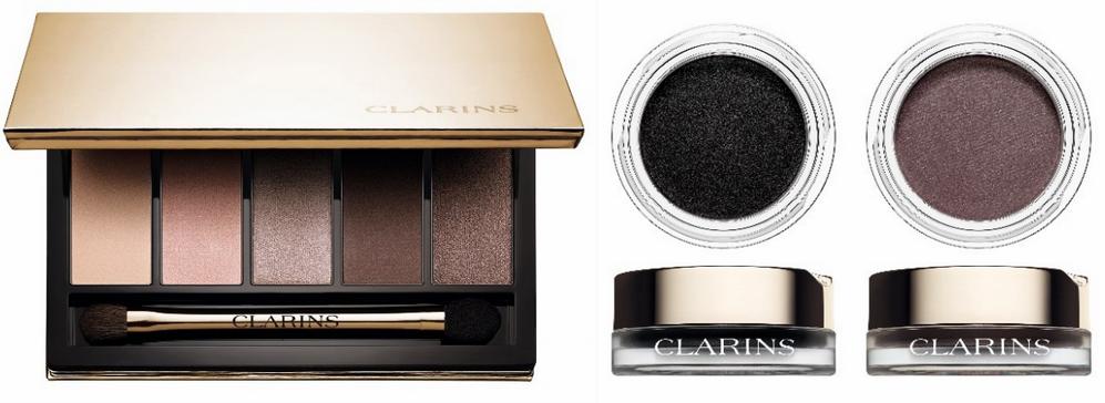 Clarins Makeup Collection for Autumn 2015 eye shadows
