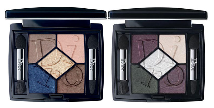 Dior Cosmopolite Makeup Collection for Autumn 2015 eye shadow palettes