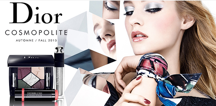 Dior Cosmopolite Makeup Collection for Autumn 2015 promo