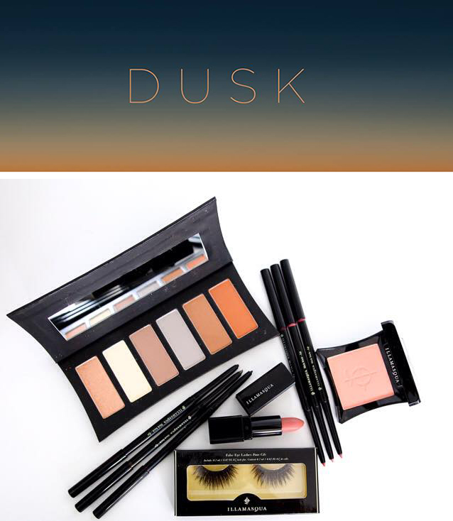 Illamasqua Dusk Makeup Collection for Autumn 2015 promo and products