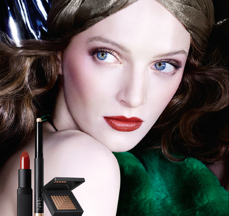 NARS Makeup Collection for Fall 2015 promo with Daria Strokous