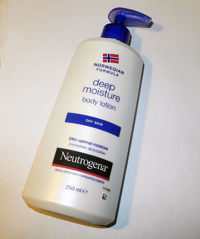 Neutrogena Deep Moisture Body Lotion Review
