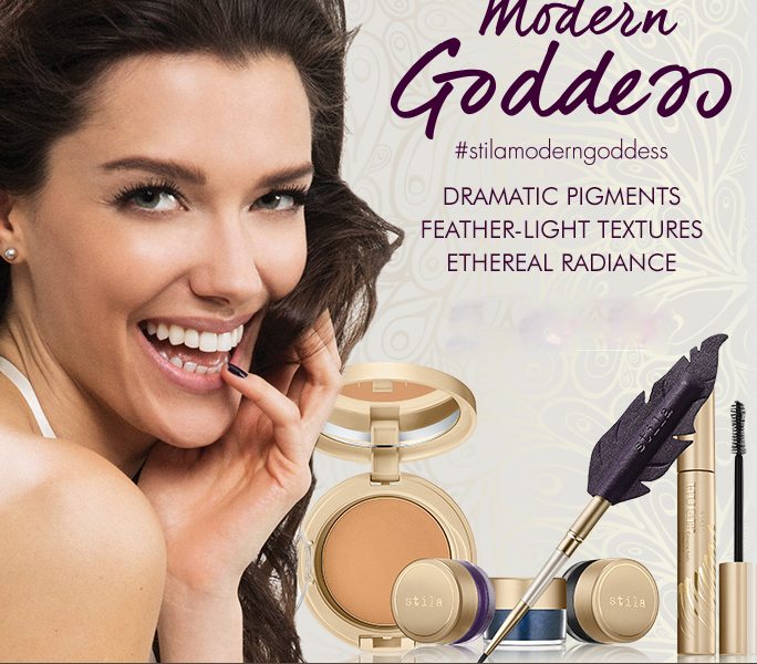 Stila Modern Goddess Makeup Collection for Fall 2015 promo