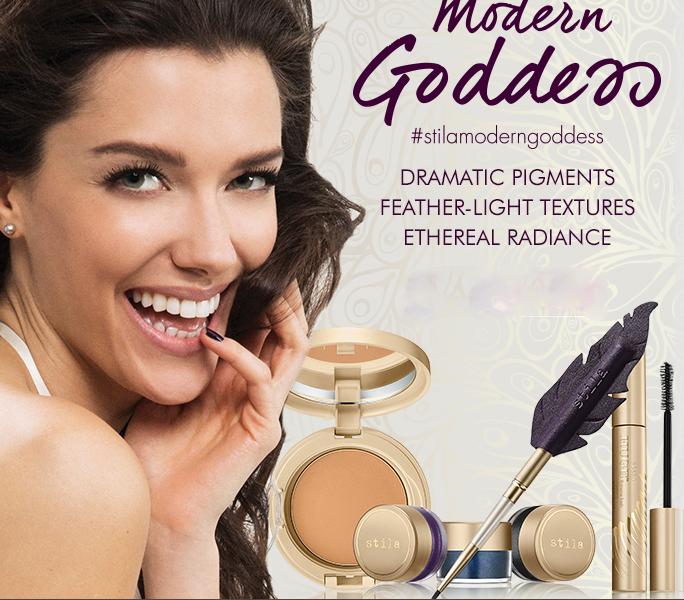 Stila Modern Goddess Makeup Collection for Fall 2015 promo