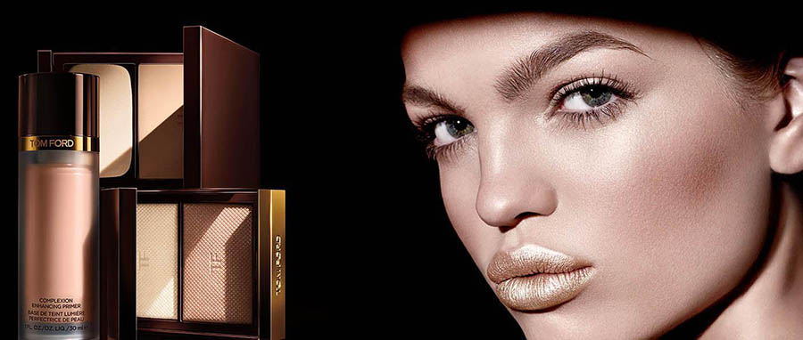 Tom Ford Flawless Face and Runway Look Collections for Autumn 2015 promo