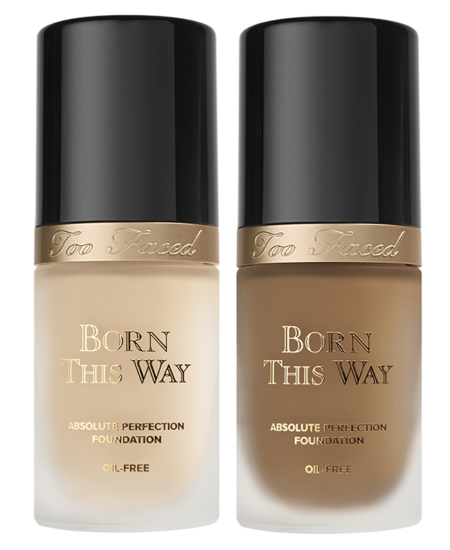 Too Faced Born This Way Undetectable Medium-To-Full Coverage Foundation Fall 2015