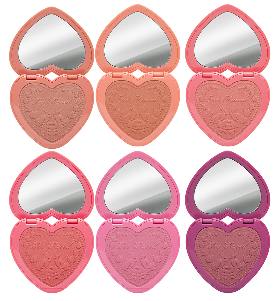 Too Faced Love Flush Long-Lasting Blush Fall 2015