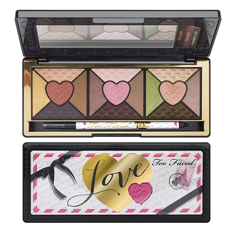 Too faced Love Palette Passionately Pretty Eye Shadow Collection fall 2015