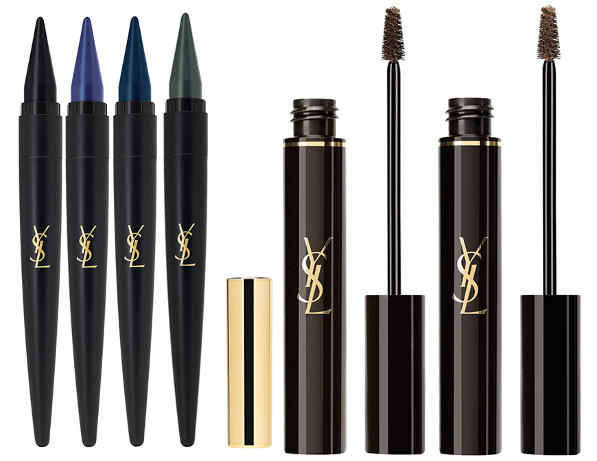 YSL Makeup Collection for Autumn 2015 eyes and eye brows