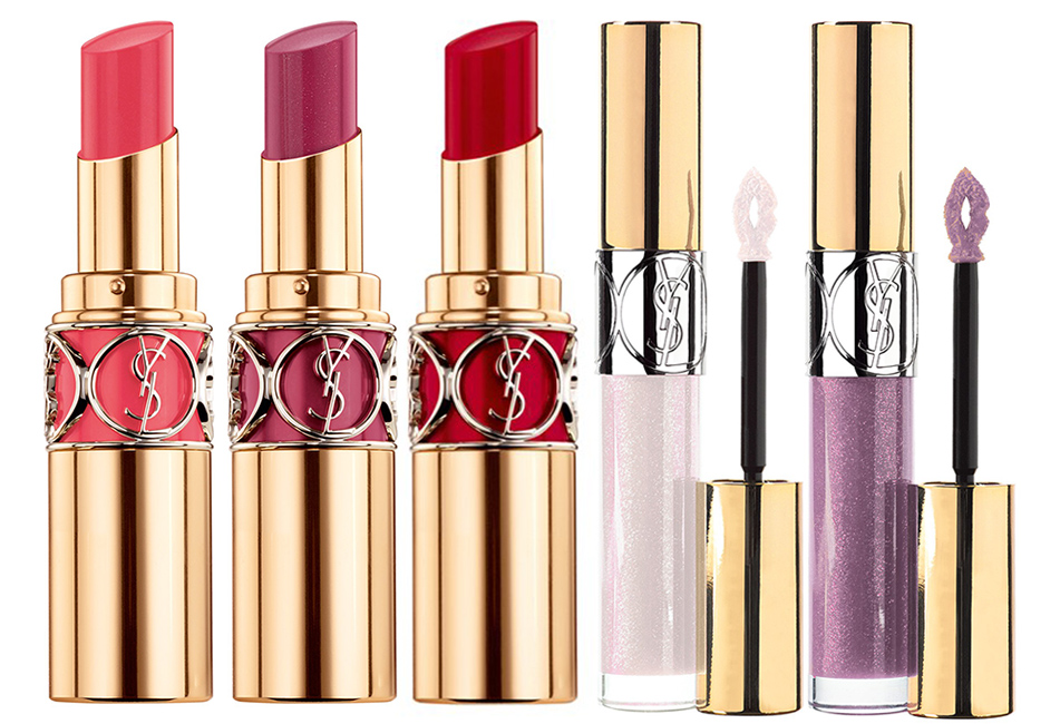 YSL Makeup Collection for Autumn 2015 lip products