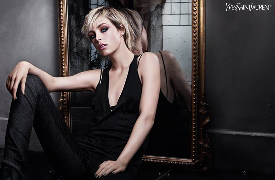 YSL Makeup Collection for Autumn 2015 promo