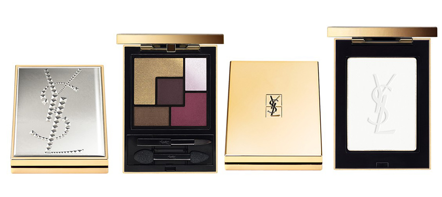 YSL Makeup Collection for Fall 2015 eye palette and highlighter