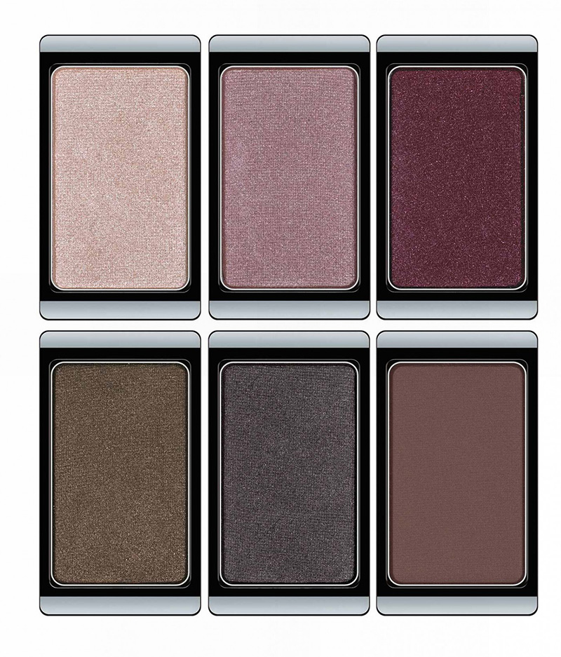 ArtDeco Mystical Forest Makeup Collection for Autumn 2015 eye shadows