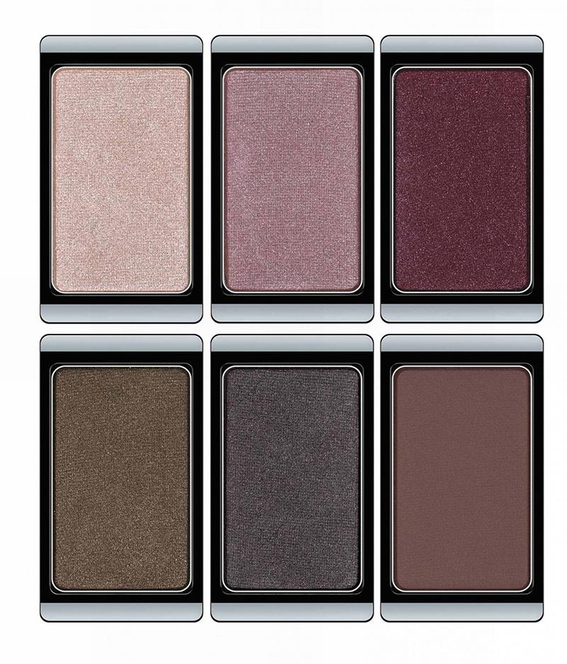 ArtDeco Mystical Forest Makeup Collection for Autumn 2015 eye shadows