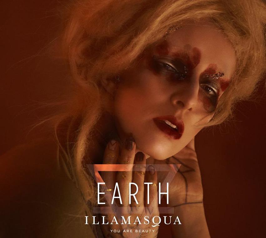 Illamasqua Earth Makeup Collection for Autumn 2015 promo 1