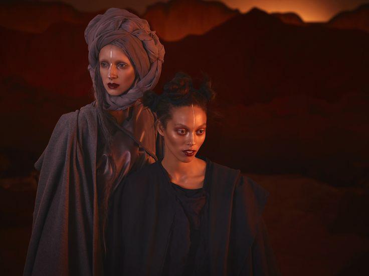 Illamasqua Earth Makeup Collection for Autumn 2015  promo