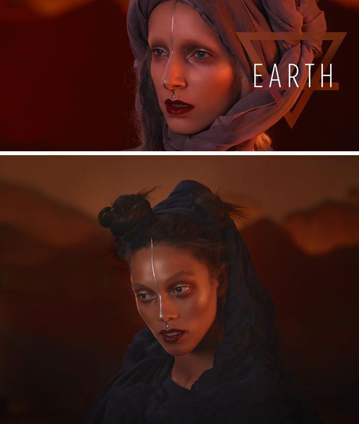 Illamasqua Earth Makeup Collection for Autumn 2015 promos