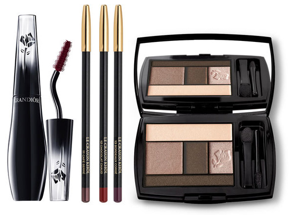 Lancome le crayon khol Grandiose mascara and eye palette Autumn 2015