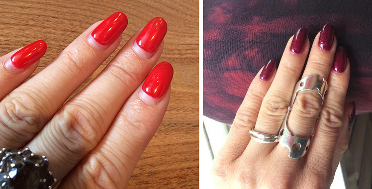 Makeup4all Nails Of The day red and crimson