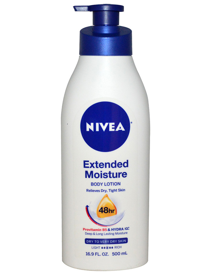 Nivea, Extended Moisture, Body Lotion, Dry to Very Dry Skin review rave