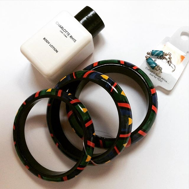 South Africa jewelry and body lotion