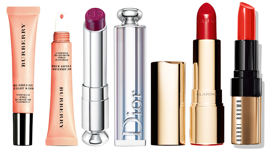 AW2015 New Lip Products Burberry, Dior, Bobbi Brown and Clarins