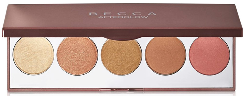 BECCA Afterglow Palette for Christmas 2015 promo