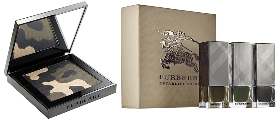 Burberry AW15 runway palette and nail polish sets