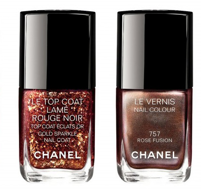 Chanel Rouge Noir Absolument Makeup Collection for Christmas 2015 le vernis